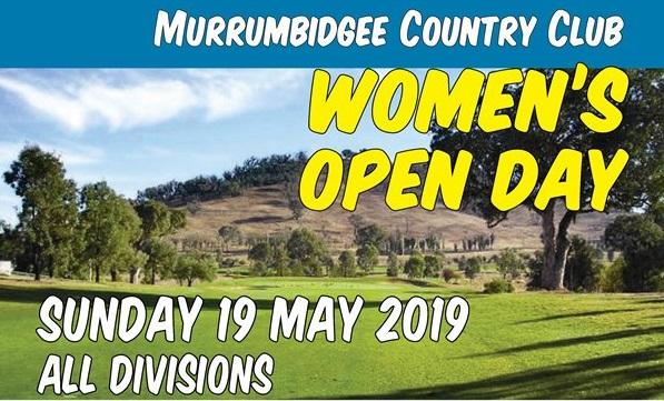 2019 Murrumbidgee Women's Open Day