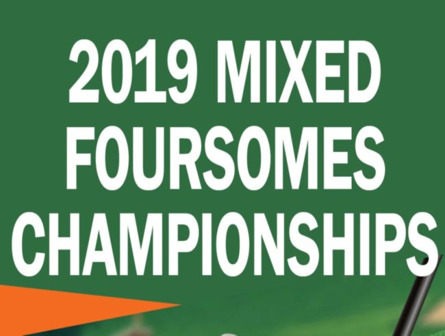 2019 MIXED FOURSOMES