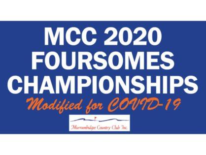 Men's & Women's 2020 Foursomes Champsionships
